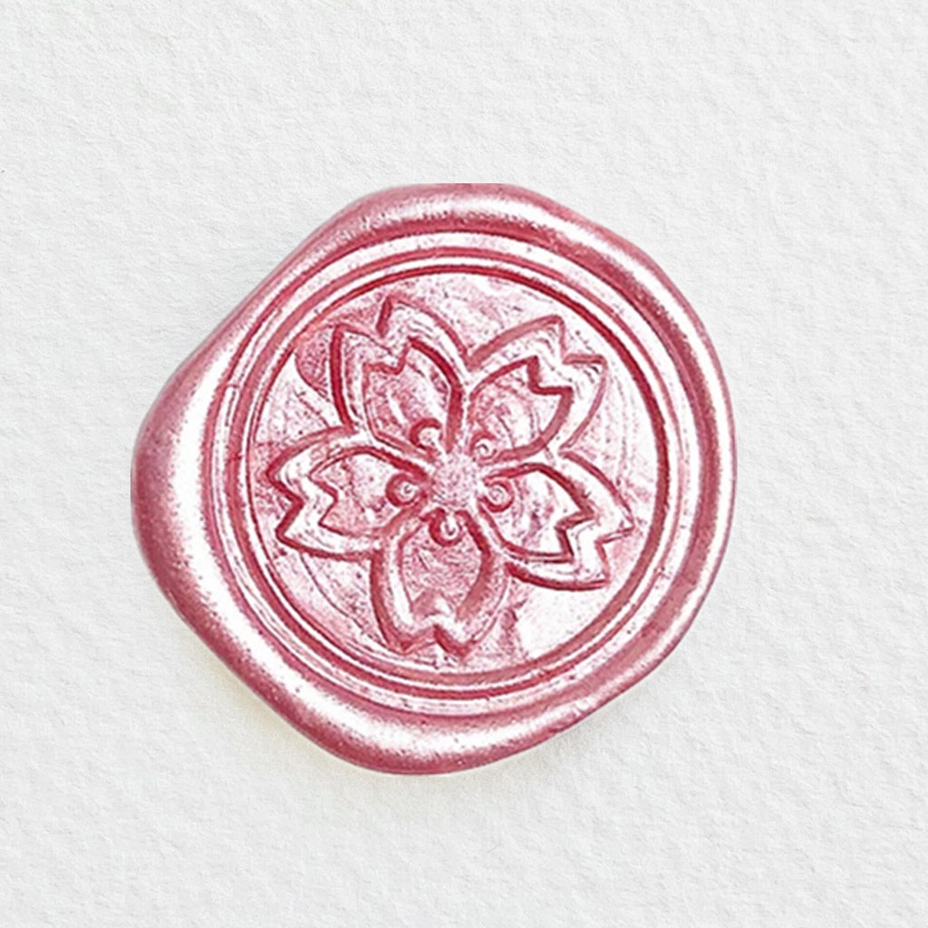 Japanese Sakura Blossom Wax Seal Stamp