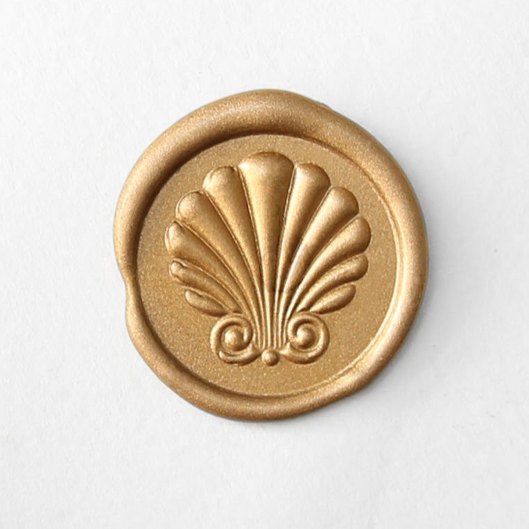 Premium 3D Seashell Wax Seal Stamp