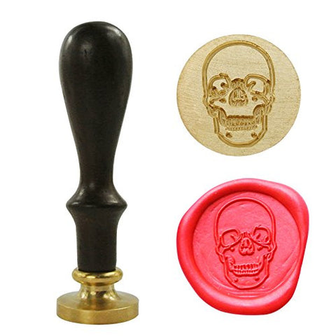 Skull Skeleton Wax Seal Stamp