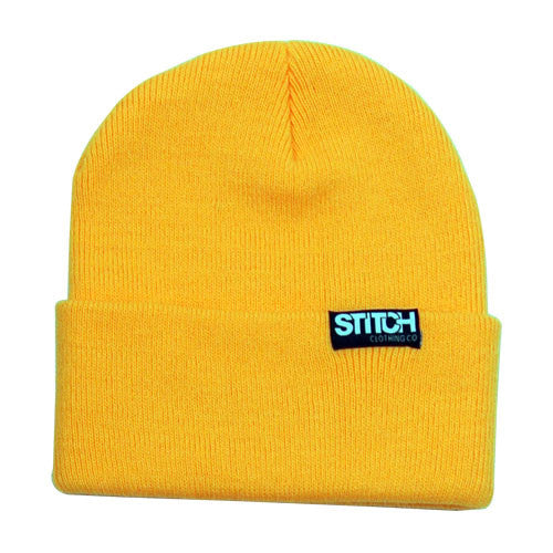 Cuffed Beanie - Neon Orange