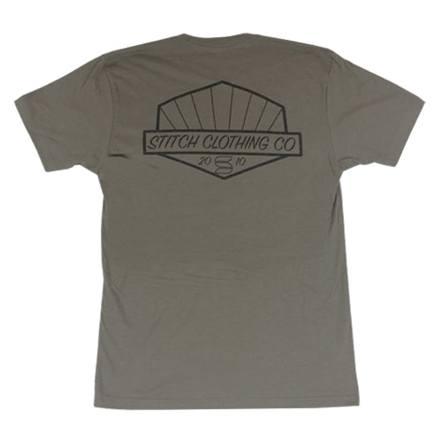 Burst Tee - Warm Gray