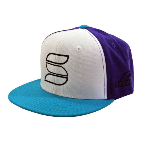 Snapback - Purple/Teal