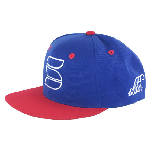 Snapback - Royal/Red