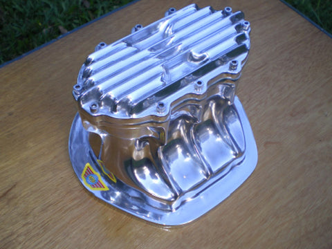 Borg Warner quick-change style diff cover polished