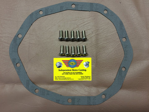 Salisbury 10 bolt diff gasket kit for early V8 Holdens and Commodores
