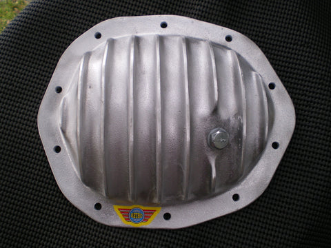 Holden V8 10 Bolt Salisbury diff cover for HQ, HJ, HX, HZ, WB. UnPolished Aluminium