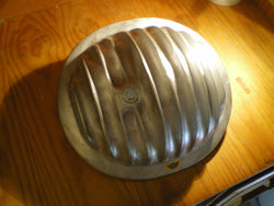 Ford 8 inch diff cover for early Ford Customlines and Mustangs. Unpolished Aluminium