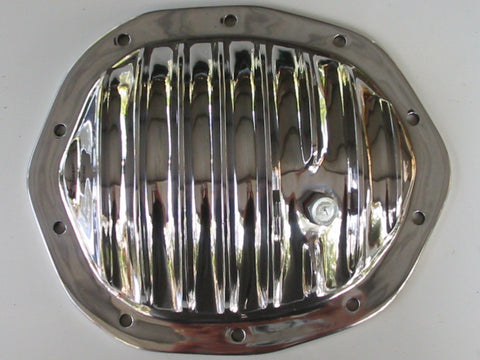 Holden V8 10 Bolt Salisbury diff cover for HQ, HJ, HX, HZ, WB. Polished Aluminium