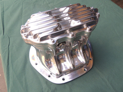 Borg Warner quick change Diff cover for Centura, Falcon, Commodore. Polished Aluminium