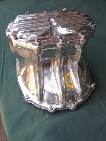 Ford 9 inch Quick change diff cover. Polished Aluminum