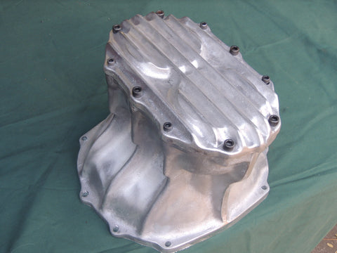 Ford 9 inch Quick change diff cover. Unpolished Aluminium