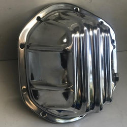 Jag Diff cover DEEP style. Polished Aluminium
