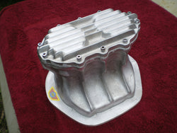 Jaguar Quick change diff cover for all independent suspension. Unpolished Aluminium