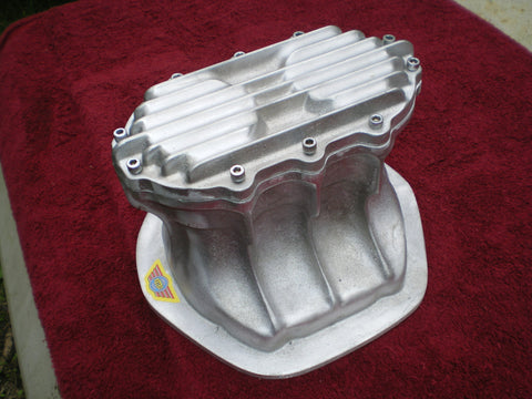 Borg Warner quick change diff cover for Centura, Falcon, Commodore. Unpolished Aluminium