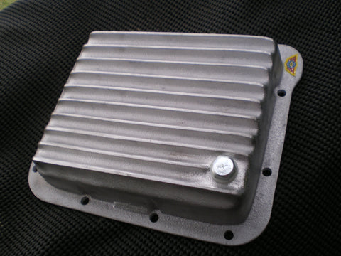 Ford C4 transmission pan Unpolished Aluminium