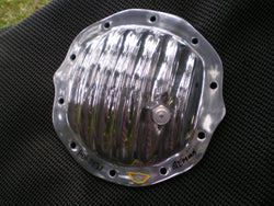 Holden diff cover for 6 cylinder HQ, HJ, HX, HZ, WB, Gemini. Polished Aluminium