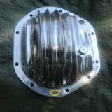 Jaguar diff cover for all independent rear end suspensions. Polished Aluminium