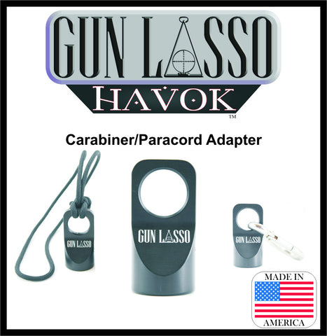 "GUN LASSO ""HAVOK"" Carabiner/Paracord Adapter"