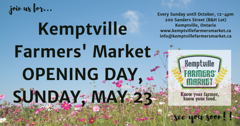 B's Bubbles at the Kemptville Market in 2021