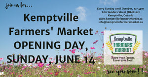B's Bubbles will be attending the 2020 Kemptville Farmers Market