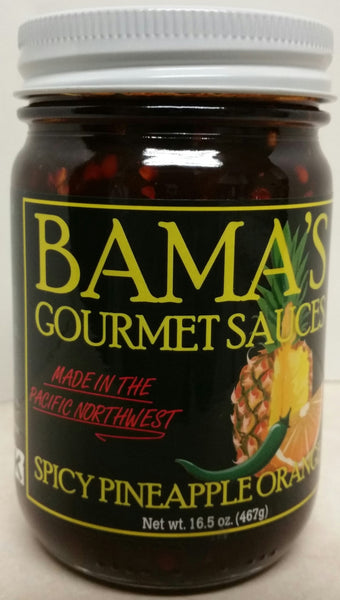 Bama's Gourmet BBQ Sauces - Pineapple Orange