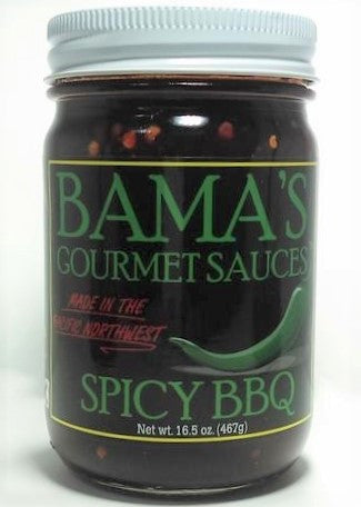 Bama's Gourmet BBQ Sauces - Spicy