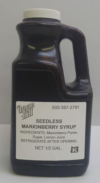 Marionberry Syrup (seedless)