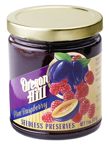 Plum - Raspberry Preserves (seedless)