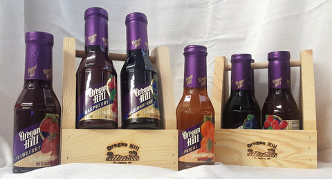 Four Syrup Gift Caddy