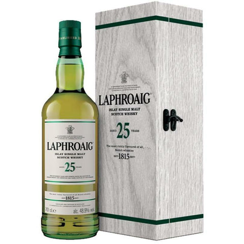 Laphroaig 25 Year Old Single Malt Scotch