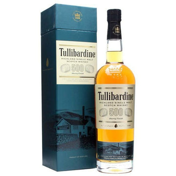 Tullibardine Scotch Single Malt 500 Sherry Finish