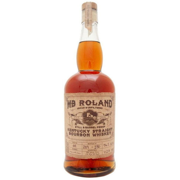 MB Roland Barrel Proof Kentucky Straight Bourbon Whiskey