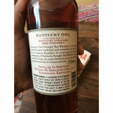 Kentucky Owl Rye Whiskey Batch No. 2