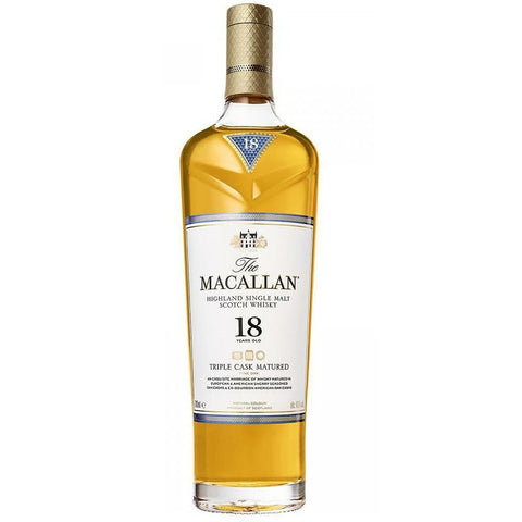Macallan 18 Year Old Triple Cask Single Malt Scotch
