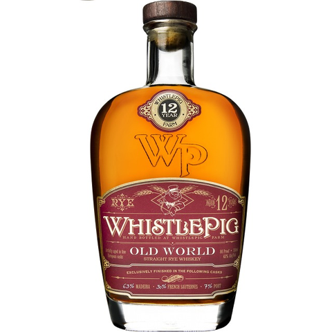 Whistlepig The Old World Rye 12 Year