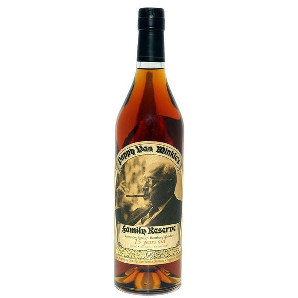 Old Rip Van Winkle 'Pappy Van Winkle's Family Reserve' 15 Year Old Kentucky Straight Bourbon Whiskey, Kentucky, USA