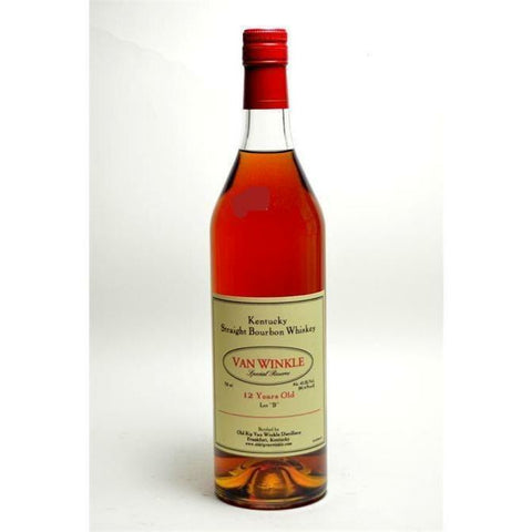 Old Rip Van Winkle 'Van Winkle Special Reserve Lot B' 12 Year Old Kentucky Straight Bourbon Whiskey, Kentucky, USA