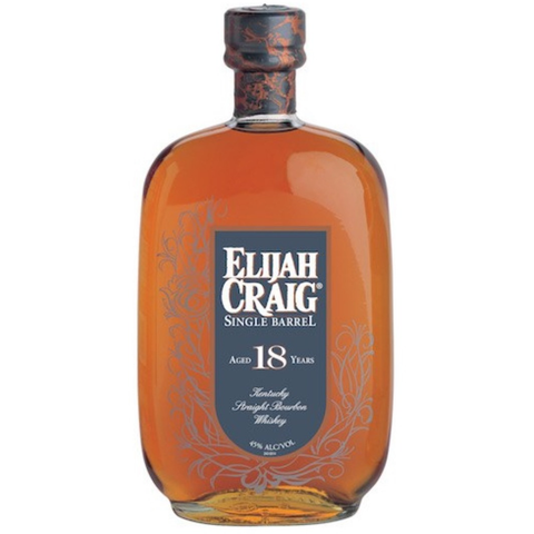 Elijah Craig 18 Year Old Single Barrel Straight Bourbon Whiskey