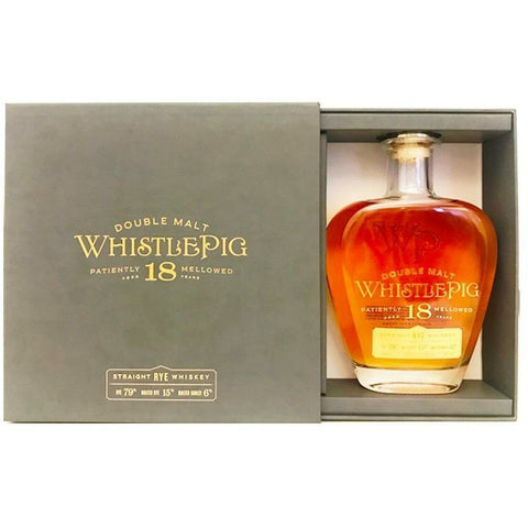 Whistlepig Double Malt 18 Year Rye Whiskey