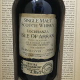 "The Arran Malt Distillery - Smugglers Series Limited Release - ""The Illicit Stills"" - Single Malt Scotch Whiskey"