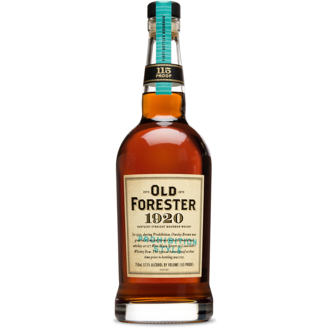 Old Forester 1920 Prohibition Style Bourbon Whiskey