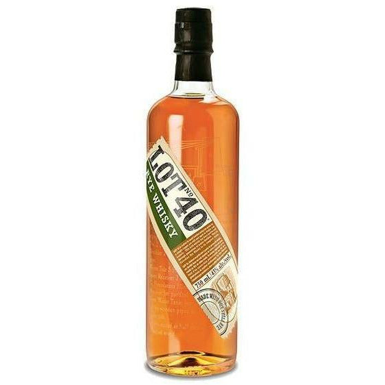 Lot No 40 Canadian Rye Whisky
