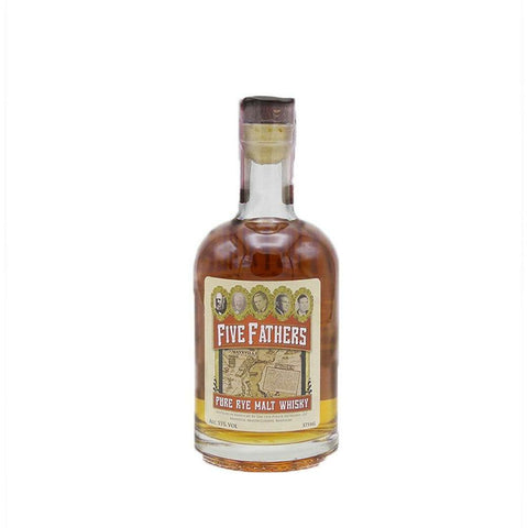 Five Fathers Pure Rye Malt Whisky