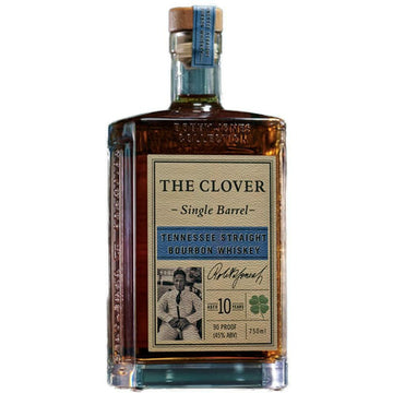 The Clover Single Barrel Tennessee Straight Bourbon Whiskey 10-Year