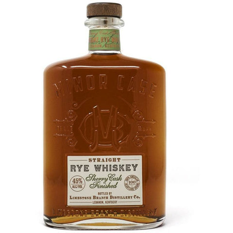 Minor Case Straight Rye Sherry Cask Finished Whiskey