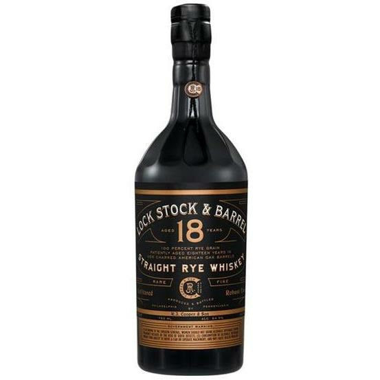 Lock Stock & Barrel 18 Year Old Straight Rye