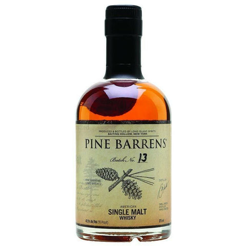 Pine Barrens American Single Malt Whiskey