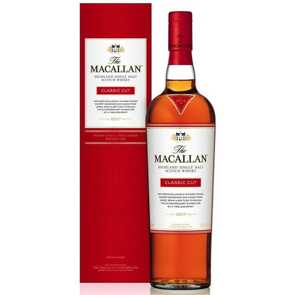 Macallan Classic Cut 102.4 Proof Single Malt Scotch Whisky