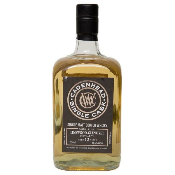 WM Cadenhead Linkwood-Glenlivet 12 Year Single Malt