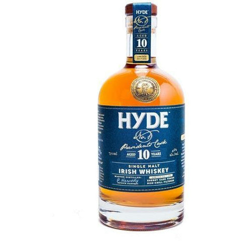 Hyde No.1 President's Cask  Irish Whisky
